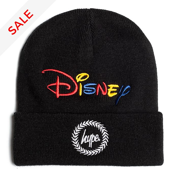 51544e4ea5bf55 Hype Disney Logo Beanie Hat For Adults