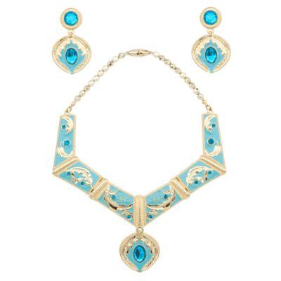 Pocahontas halsband och örhängen