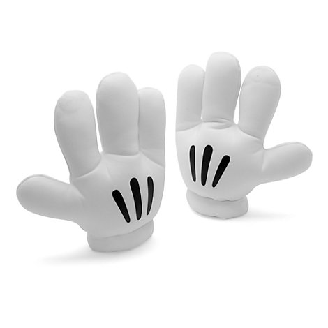 Mickey Mouse Costume Gloves For Adults