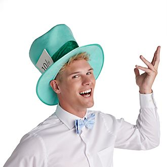 Disney Store Mad Hatter Costume Hat For Adults