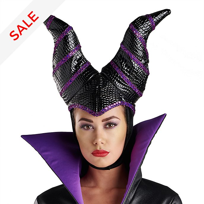 Disney Store Maleficent Costume Head Piece For Adults
