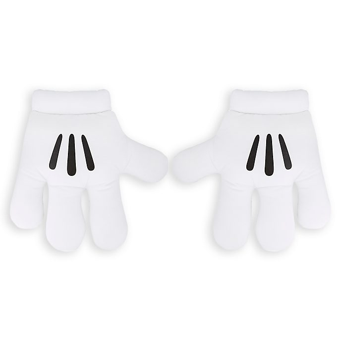 Disney Store Mickey Mouse Costume Gloves For Adults