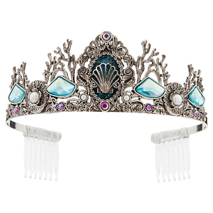 Tiara disfraz tonos plata Ariel, Disney Store