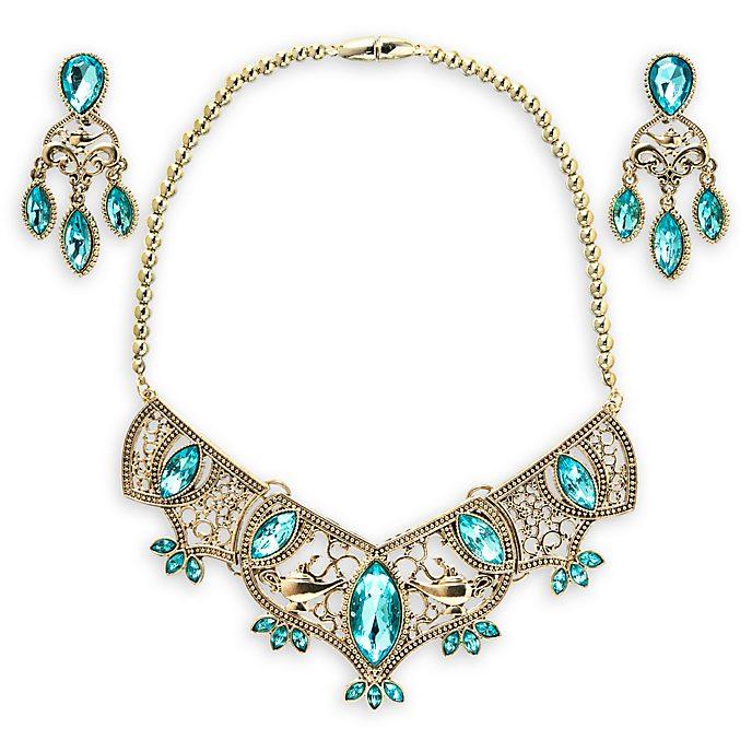 Set joyas doradas para disfraz princesa Jasmine, Disney Store