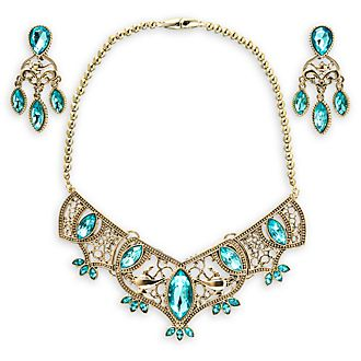 Disney Store Princess Jasmine Golden Costume Jewellery Set