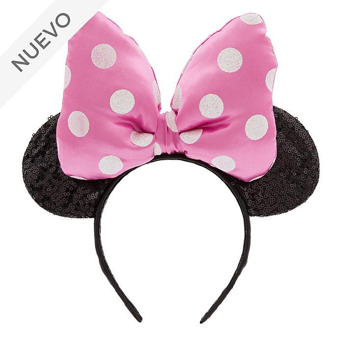 Diadema con orejas rosa Minnie Mouse, Disney Store