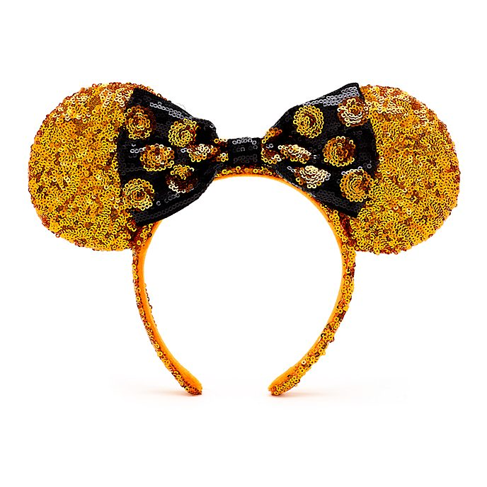 Disney Store Minnie Mouse Halloween Ears Headband for Adults