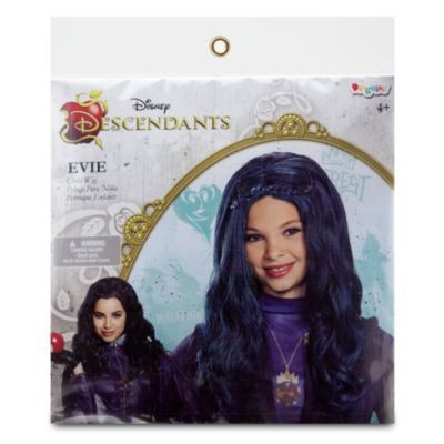 Parrucca blu bimbi Evie di Disney Descendants