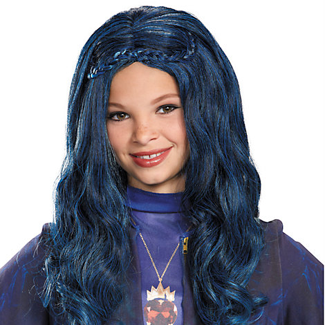 Evie blå peruk, Disney Descendants