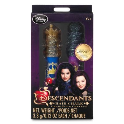 Lot de 2 craies Disney Descendants pour cheveux