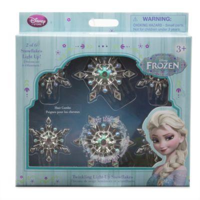 Pettinini per capelli Elsa con luce