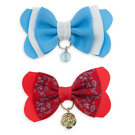 Belle Hair Bows, Set of 2