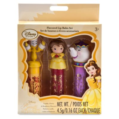Belle Character Lip Balm, Set of 3