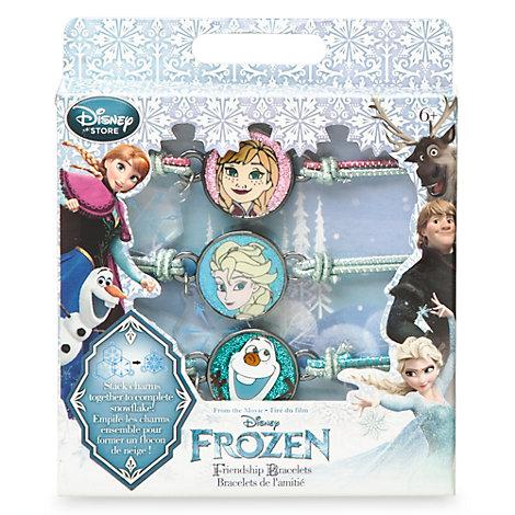 Pulseras amistad Frozen