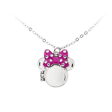 Collier médaillon Minnie Mouse