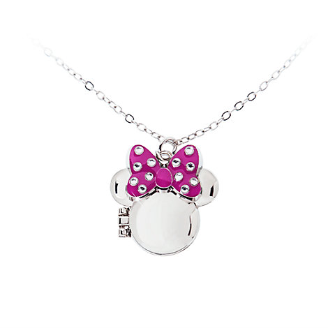Minnie Mouse Locket Necklace
