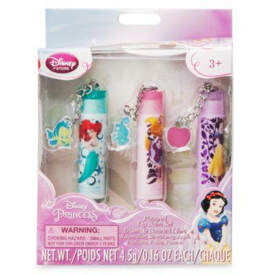 Ensemble de baumes à lèvres Princesses Disney
