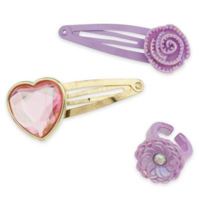 Rapunzel-smykke og -taskesæt