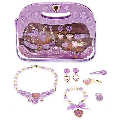 Parure de bijoux et sac à main Raiponce