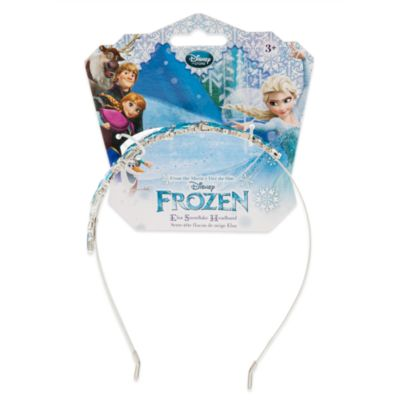 Diadema con copos de nieve Elsa, Frozen