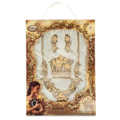 Belle guldsmykkesæt, tilbehør til kostumet fra Skønheden og Udyret