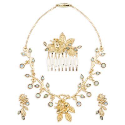 """Schmuck-Accessoire-Set zum """"Belle"""" Kostüm in Gold, Die Schöne und das Biest"""
