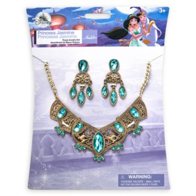 Princess Jasmine Costume Jewellery Set