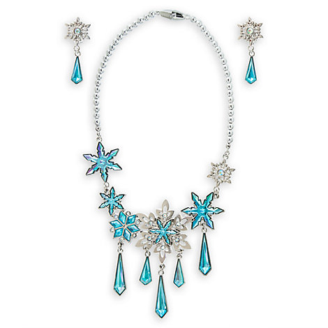 Elsa Costume Jewellery Set, Frozen