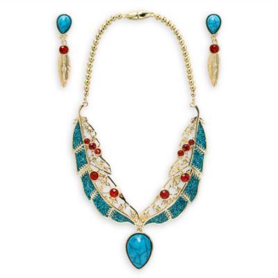 Parure de bijoux de déguisement Pocahontas