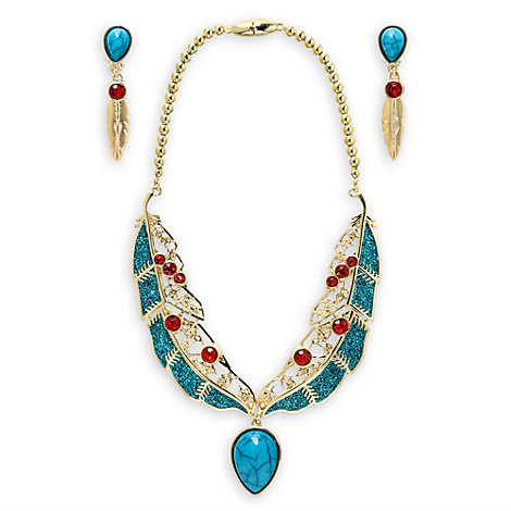 Pocahontas Costume Jewellery Set