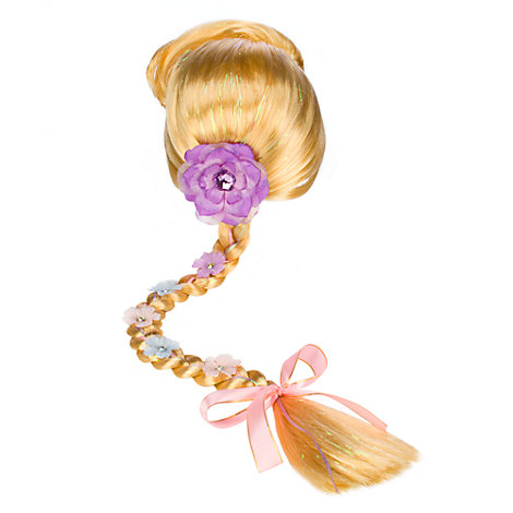 Peluca disfraz infantil Rapunzel, Enredados
