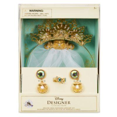 Parure de bijoux de mariage de luxe La Petite Sirène