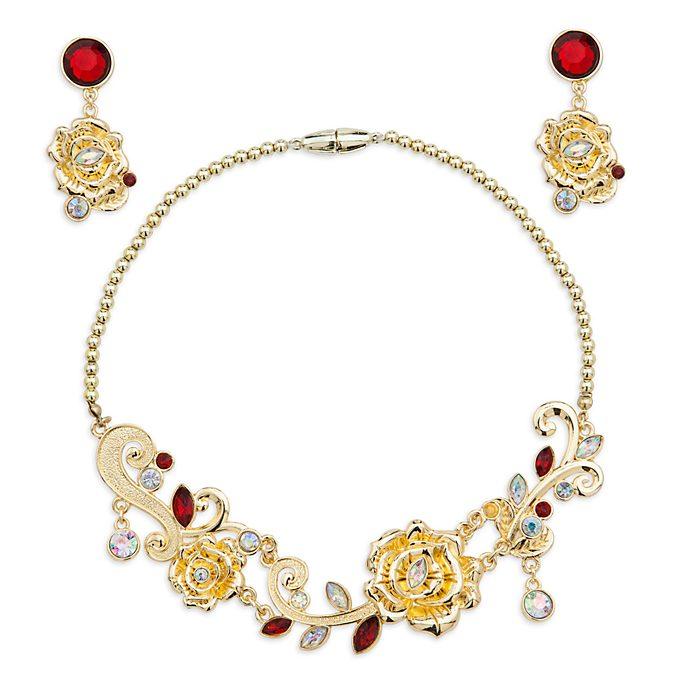 Disney Store Belle Costume Jewellery Set