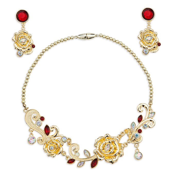 Set joyería para disfraz Bella, Disney Store