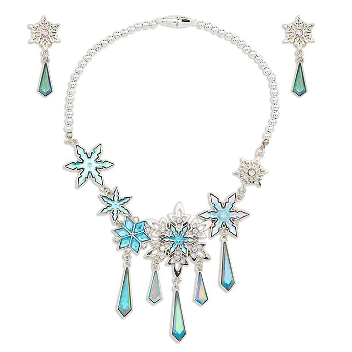 Disney Store Elsa Costume Jewellery Set