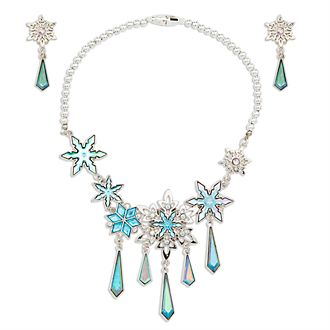 Disney Store Elsa Costume Jewellery Set