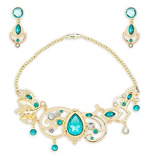 Disney Store Princess Jasmine Costume Jewellery Set