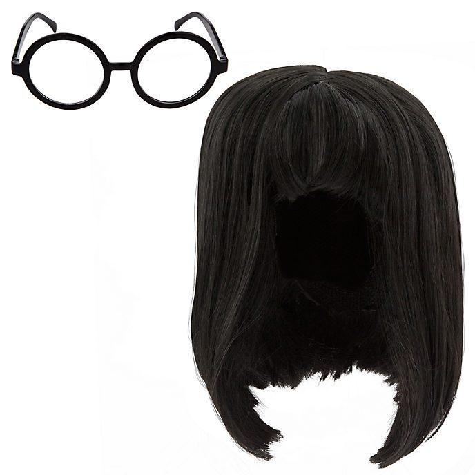 Ensemble perruque et lunettes Edna Mode pour enfants