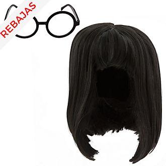 Peluca y gafas disfraz infantil Edna Moda, Disney Store
