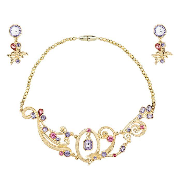 Set joyería para disfraz Rapunzel, Disney Store