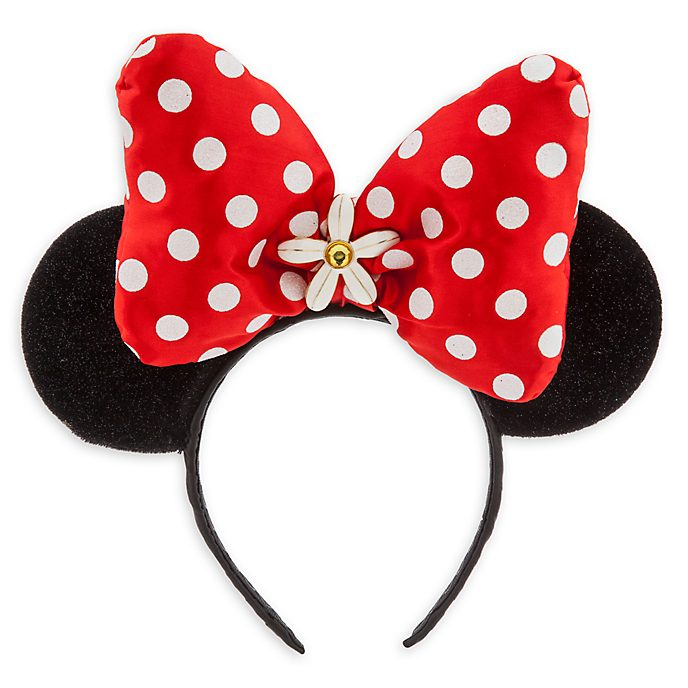 Disney Store Minnie Mouse Red Ears Headband