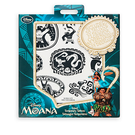 maui temporary tattoos moana