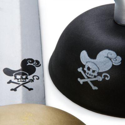 Ensemble d'accessoires de déguisement Capitaine Crochet