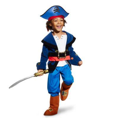 Conjunto de accesorios para disfraz infantil Capitán Jake, Jake y los piratas de Nunca Jamás