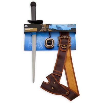 Conjunto de accesorios de tres piezas de Jack Sparrow, de Piratas del Caribe: La Venganza de Salazar