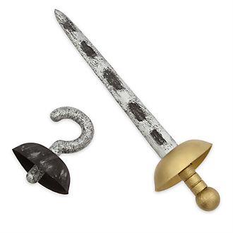 Set accesorios disfraz Capitán Garfio, Disney Store