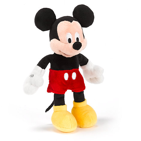 Mickey Mouse Mini Bean Bag Soft Toy