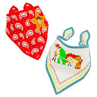 Disney Store Toy Story Baby Bibs, Pack of 2