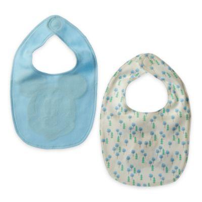 Bavaglini neonato Topolino, confezione da 2