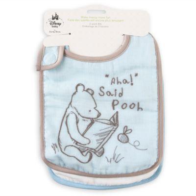 Winnie The Pooh Baby Bibs, Pack of 2